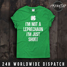 Yo no soy un duende soy sólo irlandés Paddy Irlanda Camiseta Corta del día de San Patricio