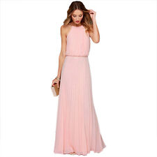 New Women Lace Long Formal Wedding Evening Ball Gown Party Prom Bridesmaid Dress
