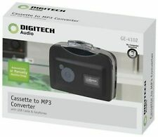 Digitech Cassette to MP3 Converter With USB Cable and Earphones