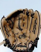 WILSON EZ CATCH A0425 ZS105  YOUTH GLOVE 10 1/2'' Leather Shell RHT