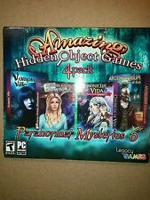 AMAZING PARANORMAL 6 HIDDEN OBJECT 4 PACK