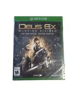 Deus Ex: Mankind Divided Day One Edition Microsoft Xbox One 2016 New