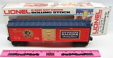 Lionel 6-7706 Sir Walter Raleigh Box Car
