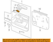 GM OEM Front Door-Window Switch 15883319