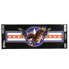 AMERICA AQUILA EAGLE Banner USA Bandiera Emblema Adesivo Decal Sticker GRANDI NUOVO