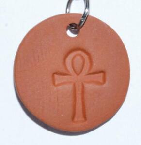 Ankh Rune Aromatherapy Clay Diffuser Pendant