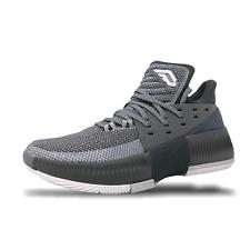 Adidas Dame 3 Mens Basketball Shoes Size 7 Grey/White Lillard BY3193 (NEW)