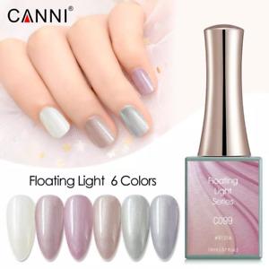CANNI UV Nail Gel Polish FLOATING LIGHT SERIES Shimmer Varnish Soak Off LED 16ML