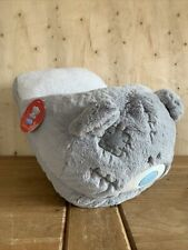 More details for me to you bear large soft plush foot warmer keep your feet warm double slipper
