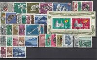 R4168/ SWITZERLAND – 1950 / 1955 USED SEMI MODERN LOT – CV 305 $