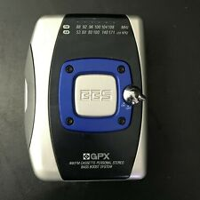 Gpx Am/Fm Cassette Personal Stereo w/ Bass Boost System | Model C3127 | Working
