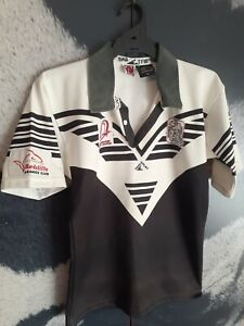 VINTAGE JERSEY REDCLIFFE DOLPHINS QLD QRL NRL BEACHMERE RUGBY LEAGUE AUS MADE