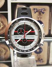 SUPER VINTAGE LEONIDAS / HEUER 70'S SEARS CHRONOGRAPH LIKE JACKY ICKZ SERVICED