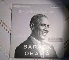 Barack Obama - Ein verheißenes Land:  4mp3 CDs