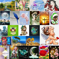 5D DIY Diamond Painting Beauty Girls Cross Stitch Embroidery Mosaic Craft Decor