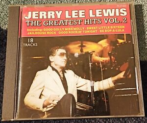 Jerry Lee Lewis - The Greatest Hits Vol. 2 CD 18 Tracks
