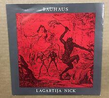 BAUHAUS Lagartija Nick 1982 UK Beggars Banquet Vinyl Single EXCELLENT CONDITION