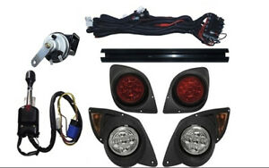 YAMAHA DRIVE G-29 LED DELUXE LIGHT KIT STREET LEGAL TURN SIGNALS 07+ UP