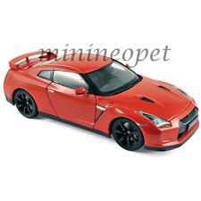 NOREV 188051 2008 08 NISSAN SKYLINE GTR R35 R-35 1/18 DIECAST MODEL CAR RED