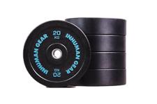 1 x 20 kg Pro Bumper Plate Hantel Olympic Bar Crossfit Fitness home gym