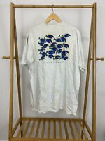 VTG Sunset Beach Salt Water Fish Single Stitch Short Sleeve T-Shirt Size XL USA