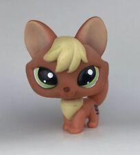 Littlest Pet Shop #1028 FOX Brown Red Beige Blonde Aqua Dot Eyes LPS