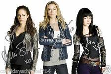 Lost Girl tv show reprint signed cast 12x18 poster / photo - Silk Solo Palmer