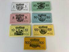 Monopoly Disney Pixar Edition Replacement Play Money