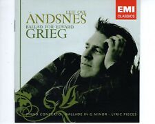 CD LEIF OVE ANDSNESballad for Edvard GriegEMI EX+ (A1429)