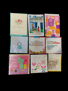 Lot Of 9 Mixed Mothers Day Cards W Envelopes Vtg New Marcel Schurman