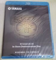 YAMAHA IN-STORE Demonstration Disc BLU-RAY Demo BD Disk Bluray