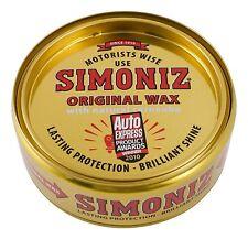 Simoniz Car Van Original Wax 150g same metal tin same great polished shine