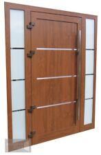 EXD 012 + 2 side panels - trpile glazed, any RAL Schuco ADS 70.HI
