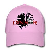 Men Women Adjustable Snapback Hat Justin Moore Logo Baseball Cap