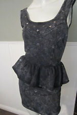 SWEET LOVE MIRERAL WASH STUDDED DRESS FROM HOT TOPIC SIZE X  SMALL