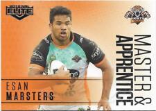 2018 NRL Elite Master & Apprentice (MA 32) Esan MARSTERS Wests Tigers