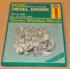 FORD Sierra Granada Diesel 1977- 1990 Reparaturanleitung Haynes Repair Manual
