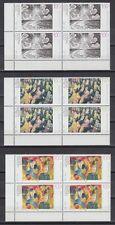 Germany Bund BRD 1993 ** Mi.1656/58 Gemälde Paintings Grosz Pankok [vd021]