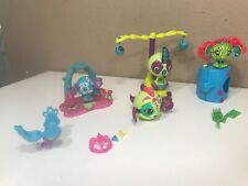 LOT ZOOBLES BALL FIGURES Spinmaster Magnetic Pop ups