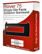 Rover 75 stereo radio Facia Fascia adapter panel plate trim CD surround Single