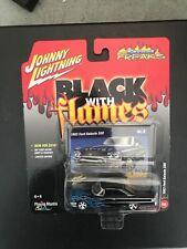 1963 FORD GALAXIE 500     2015 JOHNNY LIGHTNING BLACK   Cardboard  Has Wear