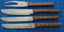 Vintage Twa Stewardess Galley 1st Class Cutlery Made in Michaud Japan 4 Pieces