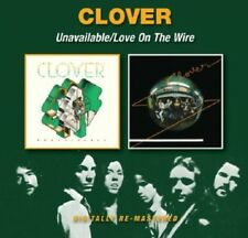 Clover, The Clover - Unavailable / Love on the Wire [New CD] UK - Import