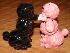 French Poodles Ceramic Salt & Pepper Shakers (Attractives, 8587) Magnetic