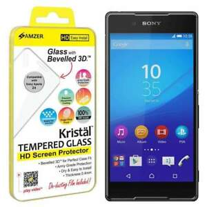 AMZER Kristal HD Tempered Glass Screen Protector for Sony Xperia Z3+/ Xperia Z4
