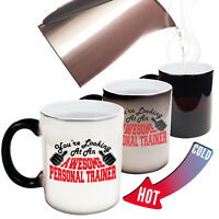 Funny Magic Mug Christmas Birthday Gift - Personal Trainer Youre Looking Awesome