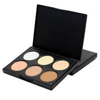 6Colors Makeup Face Contour Kit Concealer Palette Bronzer Highlighter Makeup FR