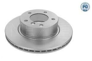 MEYLE PD Brake Rotor Front Pair 383 521 3063/PD fits BMW 1 Series 118 d (E87)...