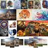 5D Diamond Painting Lion Cross Stitch Embroidery Mosaic Kit Home Decor DIY Gift