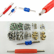 Car Air Conditioning Valve Core A/C R12 R134a Valve Stem Cores Remover Tool Kit&